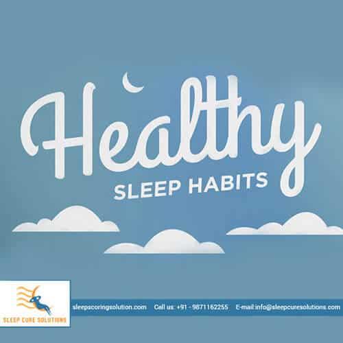 Healthy Sleep Habits & Rituals