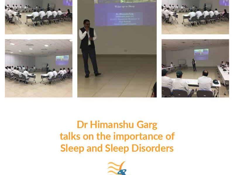 Dr. Himanshu Garg Importance of sleep