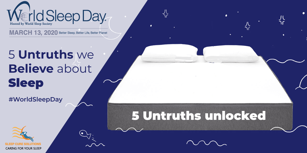 Sleep Myths & Untruths - sleep cure solutions