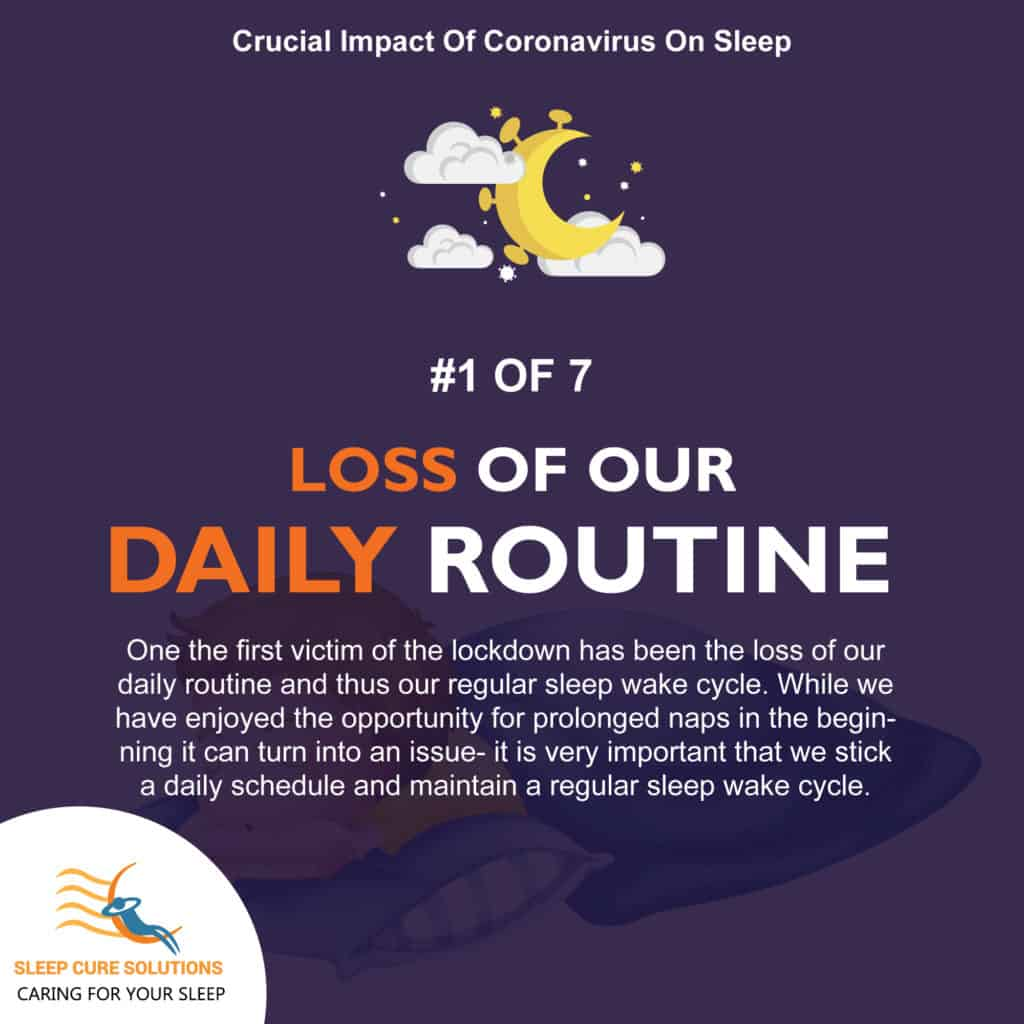 How Coronavirus can impact our daily routine